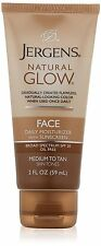 Jergens Natural Glow Daily Moisturizer for Face, Medium-Tan, 2 oz (Pack of 6)