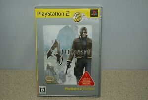 New PS2 BIOHAZARD 4 the Best Factory sealed PlayStation 2 Japan import CAPCOM