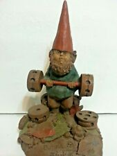 """Collectible Signed 1985 Tom Clark """"Bubba The Weight Lifter"""