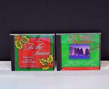 Christmas Music 2 CD A Country Christmas Mix and  'Tis the Season Gill Newton