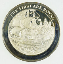 Franklin Mint Medallic History Of Great Britain & The Sea - The First Ark Royal