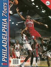 1995-96 Official Philadelphia 76ers Pictorial Yearbook Jerry Stackhouse
