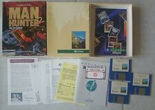Man Hunter 2 Atari St Computer Pc Version Vintage Sierra Video Game With Inserts