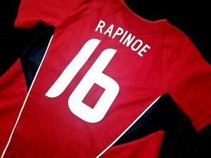 jersey nike Megan Rapinoe (M) shirt USWNT US 2006 USA vintage red  shirt