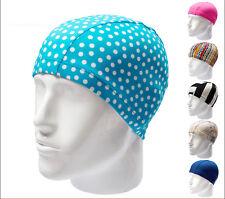 Adult Durable Swim Cap Elasticity Swimming Hat Swimming Long Hair Cap