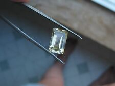 100%NAT. ABSOLUTELY HUGE HIGHLY DISPERSIVE CHAMPAGNE YELLOW PLAGIOCLASE 6.25CT.