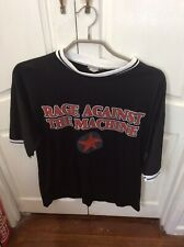 Rage Against The Machine Vintage T Shirt XL Rare Used Tight Fit