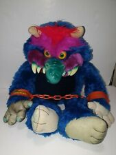 LARGE COLLECTABLE MY PET MONSTER 1986 COMPLETE WITH HANDUFFS