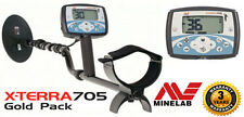 MINELAB XTERRA 705 GOLD PACK METAL DETECTOR find NUGGETS & TREASURE + HOW TO DVD