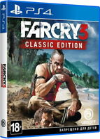 Far Cry 3 Classic Edition (PS4, 2018) Eng,Russian,German,Italian,French,Spanish