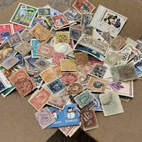 WW OFF PAPER STAMP LOT INCLUDES THOUSANDS OF STAMPS FROM OVER 50 COUNTRIES