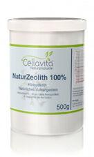 CELLAVITA Zeolithpulver Natur-ZEOLITH 100% Klinoptilolith Entgiftung REIN 500g