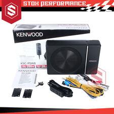 Kenwood KSC-PSW8 250W Peak Under Seat Subwoofer car Bass Controller KSCPSW8