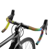 New Ciclovation Premium Road Bicycle  Handlebar Tape w/Halo Touch Storm Rainbow