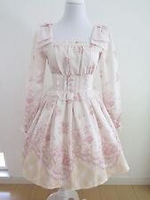 Liz Lisa Floral Dress Lolita Hime Gyaru shibuya109 Very Cute (a324)