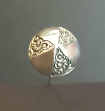 ANTIQUE STERLING SILVER HAT PIN, c. 1900