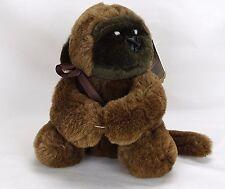 Vintage Gorilla Plush Joy Toy MisLabeled Error Tag