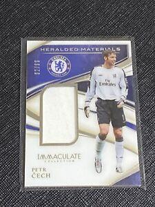 2020 Immaculate Petr Cech SP Jumbo Jersey Card /99