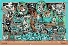 "Fantastic Mr Fox Variant Poster Print by Tyler Stout  24"" x 36""  Mondo Ed 300"