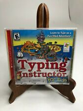 Typing Instructor For Kids CD Scholastic - NEW *CASE HAS A CRACK* Individual