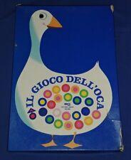 Il Gioco dell'Oca gioco da tavolo EG Editrice Giochi Milani vintage anni 70