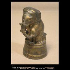 Antique Cast Iron Still Bank Circus Elephant on Tub
