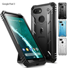 Google Pixel 3 Case,Poetic [w/Kick-stand] Armor Heavy Duty Shockproof Cover
