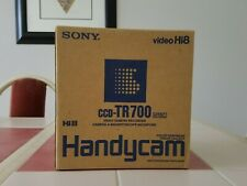 sony handycam camcorder video camera recorder hi 8 ccd-tr700 brand new in box