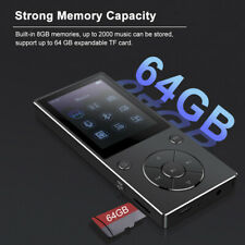 RUIZU D11 8GB MP3 MP4 Player Bluetooth HiFi Music FM Radio Voice Recorder UK