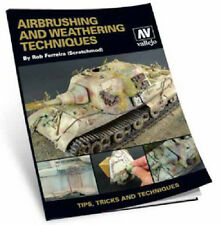 Vallejo Paints & Accessories VLJ-75002 Airbrush & Weathering Techniques Book