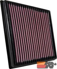K&N Replacement Air Filter For JAGUAR F-PACE V6-3.0L 2015 (RT/PASSENGER) 33-3074