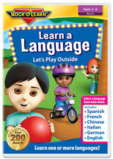 Learn a Language Let's Play Outside by Rock 'N Learn (New)