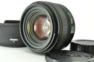 """"""" Exc +3 """" SIGMA EX 30mm F1.4 DC HSM AF Prime Lens w/ Hood for Nikon From Japan"""