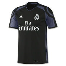 5ad663893cca0 adidas Real Madrid Official 2016 2017 Third Soccer Football Jersey S
