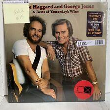 Merle Haggard George Jones Taste Of Yesterday's Wine- SEALED Country LP