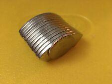 Lot Of 12 X Large Neodymium Rare Earth Magnet Hard Drive Magnet