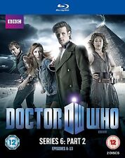 Doctor Who Series 6 - Part 2 Blu-ray New & Sealed