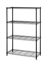 "Mew 36""x14""x54"" 4 Tier Layer Shelf Adjustable Steel Wire Metal Shelving Rack T54"