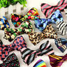 Mens Wedding Bowtie Classic Necktie Bow Tie Tuxedo Adjustable Ties Party Fashion