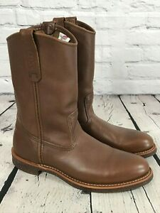 Red Wing 1178 Pull on Pecos Work Boots Size 9 B Made in USA