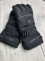 Battery Heated Gloves Winter Warm Motorcycle Snowmobile Waterproof Rechargeable