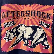 Aftershock 2016 Music Festival T-Shirt Short Sleeve Tool Avenged Sevenfold Korn