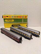 Vintage Minitrix n scale passenger Cars