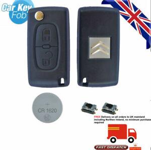 For CITROEN C2 C3 2 Button Remote Control KEY FOB CASE REPAIR FIX KIT CE0536