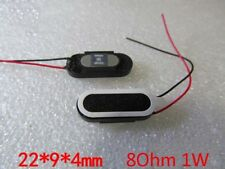2pc 22x9mm 8Ohm 1W Small Audio Woofer Stereo Oval Speaker for MP3 Phone & Tablet