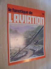 Le fanatique de l'aviation n° 73 de 1975