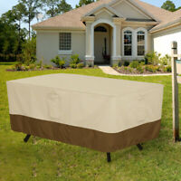 Rectangle Furniture Cover Garden Patio Sofa Table Chair Waterproof Outdoor Squar