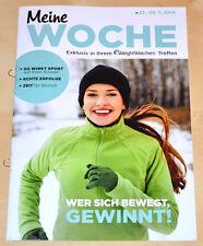 Weight Watchers Meine Woche 23.11 - 29.11 ProPoints™ Plan 2014 Wochenbroschüre