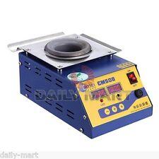 CM508 Lead-Free Titanium Alloy Solder Soldering Pot Desoldering Bath 250W 110V