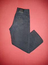 Paul Smith - Waist 32 Leg 28 - Button-Fly - Mens Navy Soft Jeans - B242